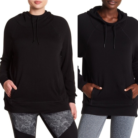 74ac09d266f NEW Z by Zella Black Hall of Fame Hoodie Sweater